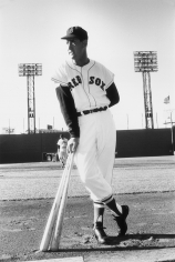 Slim Aarons, Ted Williams for the Red Sox, Fenway Park, Boston, May 1958