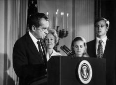 Harry Benson, Richard Nixon Resigns, 1984