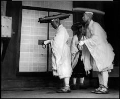 Werner Bischof, Buddist Pilgrims on the Mount Hiei, Japan 1951