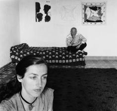 Robert Doisneau, Pablo Picasso and Francoise Gilot, 1952