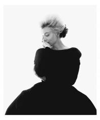 Bert Stern, Marilyn Monroe: From The Last Sitting, 1962 (VOGUE, Black dress)