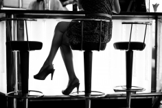 Michael Dweck  Legs: The bar at the Hotel Melia Cohiba, Habana, Cuba, 2010