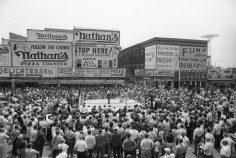 George Kalinsky, Boxing at Coney Island, 1969
