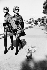 Ellen von Unwerth, Dog Walkers, Cannes, 1990