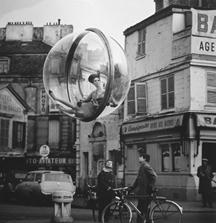 Melvin Sokolsky, Bicycle Street, Paris, 1963