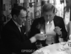 Phil Stern, JFK and Frank Sinatra, 1961