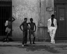 Kurt Markus, VOGUE Hommes, Havana, Cuba, 1993