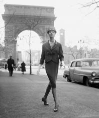 William Helburn, Washington Square Arch, 1960