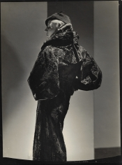 George Hoyningen-Huene, Broadtail Coat, 1935