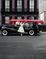 William Helburn, Red Canoe: Barbara Mullen, circa 1959