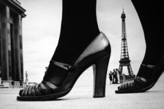 Frank Horvat, Eiffel Tower and Shoe, Paris, Stern Magazine, 1974