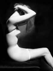 Lillian Bassman Fletcher D Richards, Model Unknown, circa 1950
