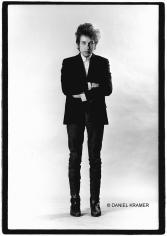 Daniel Kramer, Bob Dylan Standing in Studio, New York, 1965