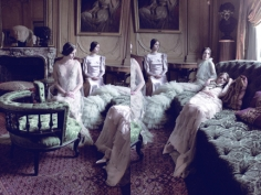 Deborah Turbeville, Models in Valentino, VOGUE Italia, 2011