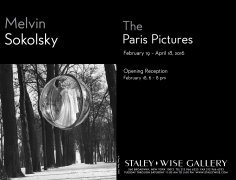 Melvin Sokolsky, Exhibition Invitation