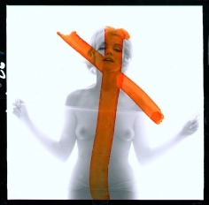 Bert Stern, Marilyn Monroe: From the Last Sitting,  1962 (Crucifix II)