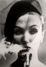 William Klein, Smoke and Veil, Paris, Vogue, 1958