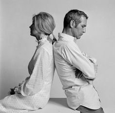 Lawrence Schiller, Joanne Woodward and Paul Newman, 1970