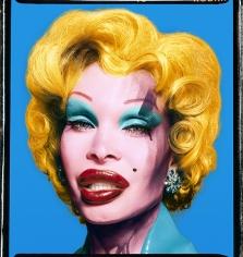 David LaChapelle, Amanda Lepore as Andy Warhol's Marilyn Monroe, 2002