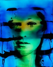 Kali, Face (Blue and Green), Palm Springs, CA, 1968