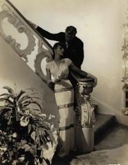 George Hoyningen-Huene, Toni Hollingsworth at the Coty Salon, 1941, Vintage Print