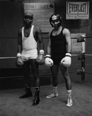 Kurt Markus, Boxers, Gleason's Gym, Brooklyn, New York, 1990