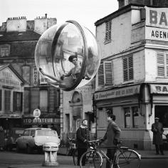 Melvin Sokolsky, Bicycle Street, Paris, 1963