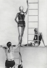 George Hoyningen-Huene, Lelong Beachwear with Horst and models, 1929