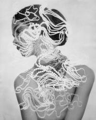 Herbert Matter, Photogram of Model with Jewelry