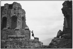Arthur Elgort, Amphitheater, Taormina, Sicily, 1989