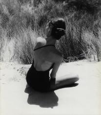 Herbert Matter, Model with Swimsuit