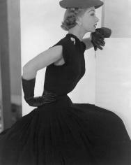 Horst, Lisa Fonssagrives, Hat and Gloves, 1951