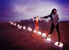 David LaChapelle, An Illuminating Path, New York, 1998