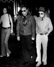 Ron Galella, Marlon Brando and Dick Cavett, New York, 1973