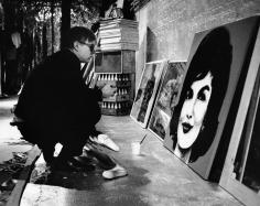 Peter Basch, Andy Warhol, Jaqueline Kennedy