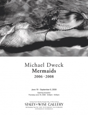 Michael Dweck, Exhibition Invitation