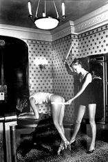 "Helmut Newton, ""Interior"" Hotel Negresco, Nice, France, 1976"