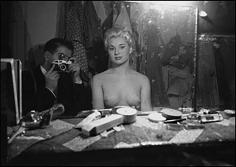 Frank Horvat, Le Sphynx C, Self Portrait, 1956