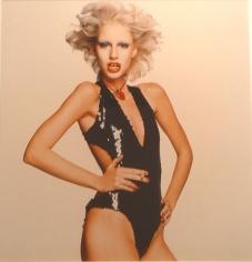 Chris Von Wangenheim, Model, Black Sequins, Hot Lipstick