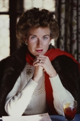 Slim Aarons, Lucy Ruspoli, 1982: Princess Lucy Ruspoli in Cortina d'Ampezzo, Italy