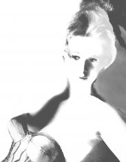 Lillian Bassman Model unknown, circa 1950. Reinterpreted in 2006