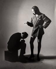 Bert Stern, George Balanchine and Suzanne Farrell, VOGUE, 1967
