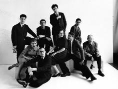 Bert Stern, Magnum Agency: (Clockwise, from top left: Elliott Erwitt, Dennis Stock, Ernst Haas, Erich Hartmann, Henri Cartier-Bresson, Cornell Capa, Inge Morath, Burt Glinn, and Eve Arnold), New York, 1960
