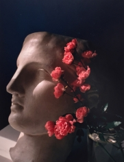 Horst P. Horst, Roses with Antique Head, circa 1985