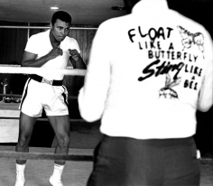 Harry Benson, Float Like A Butterfly, Sting Like A Bee: Muhammad Ali, Miami, 1978