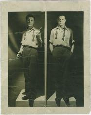 Tom Palumbo, Earliest self-portrait, circa 1949