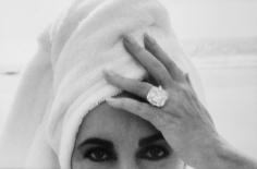 Elizabeth Taylor, Malibu, 1991