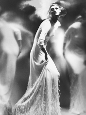 Lillian Bassman, Bird Lady Anneliese Seubert, German Vogue, 2000