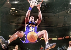 George Kalinsky, Shaquille O'Neal,  Madison Square Garden, New York, 2002