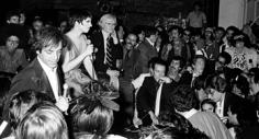 Ron Galella, Steve Rubell, Liza Minelli, Andy Warhol, Halston and friends, circa 1978
